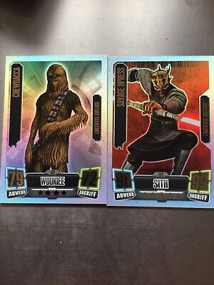 star wars force attax LE1+LE2