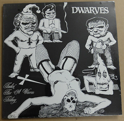 "Dwarves ‎– Toolin' for a warm Teabag 12"" EP Recess Rec. OVP"