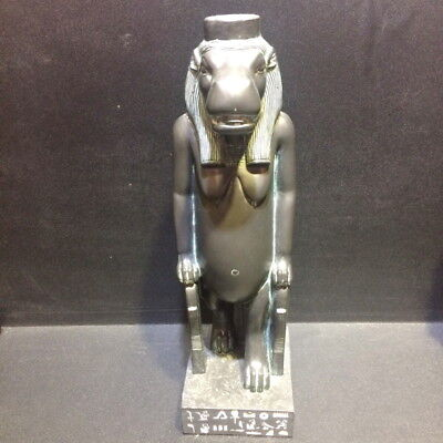 "8"" Egyptian Taweret hippo statue figure ancient goddess Egypt sculpture figurine"