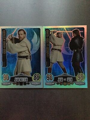 star wars force attax LE2 + LE 4