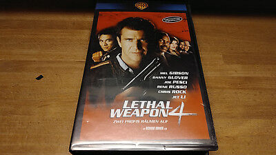Lethal Weapon 4 - Mel Gibson - Vhs