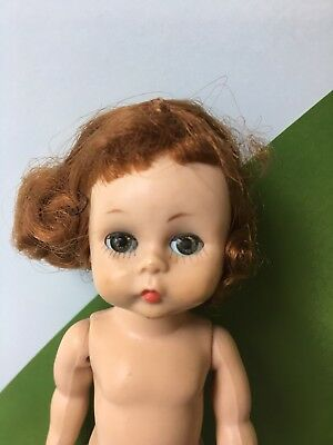 Original Madame Alexander-kins Doll Redhead Bent Knee Walker 1950's