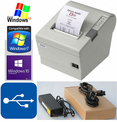 Usb Bondrucker Epson Tm-T88Iv Kassenprinter Gastro F. Windows Xp 7 8 10 #88-6 Mm