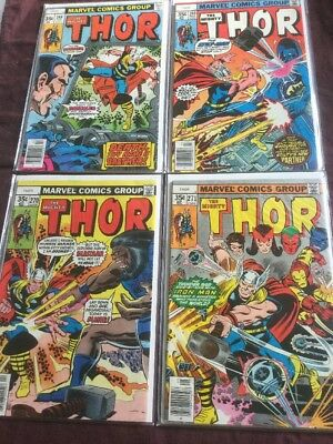 the mighty thor lot 268 269 270 271 set collection gift marvel comic book