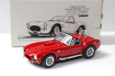 1:24 Creative Masters Shelby Cobra 427 SC red boxed bei PREMIUM-MODELCARS