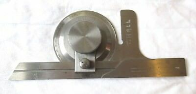 """Brown & Sharpe - UNIVERSAL BEVEL PROTRACTOR with 6"""" BLADE - No.495"""