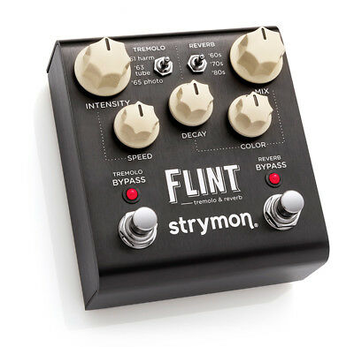 Strymon Flint Tremolo and Reverb Pedal insured & trackable shipping