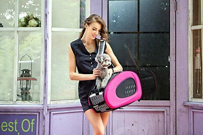 Pet Stroller,IPS-025/Pink,Dog/Cat carrier,Trolley,Trailer,Innopet,Foldable Buggy