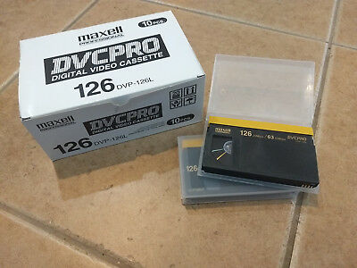 DVCPRO HD VIDEO Tapes (DVP 126 DVCPRO large shell)  (30 New tapes)