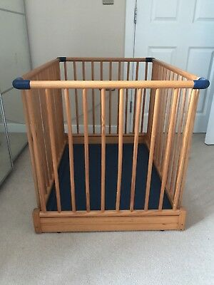 MotherCare Foldable Wooden Playpen & BABYDAN PLAYPEN Tent - £5.00 | PicClick UK