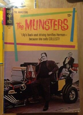 The Munsters #3 Very Nice Photo Cover Gold Key TV Comic 1965