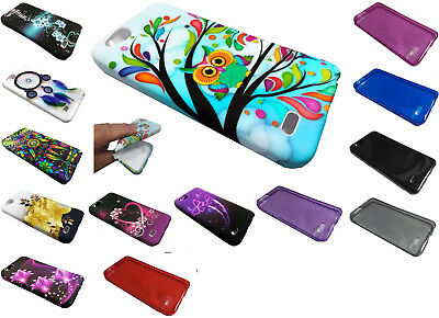 TPU FLEXIBLE SKIN Cover Phone Case For ZTE ZFive G / C Z557BL Z558VL