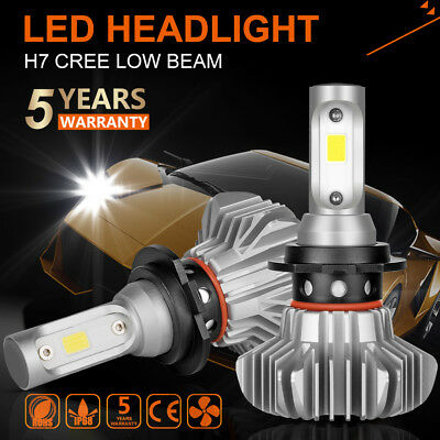 Autofeel H7 1080W 162000LM LED Headlight Kit High Low Beam Bulbs CREE 6500K Pair
