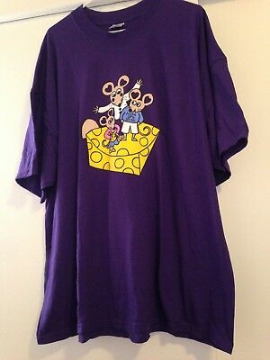 Wee Forest Folk  - purple mouse convention shirt 3X - never worn