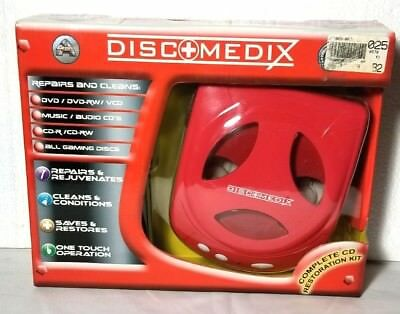 DISC MEDIX REPAIR AUD100 SYSTEMMachine DVD CD Skip Scratch Clean Removal Fix NEW