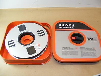 "Maxell CV-60 1"" Inch Back Coated Broadcast Quality Professional Unused"