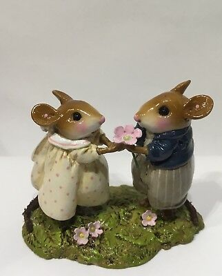 Wee Forest Folk Je t' Adore Couple NEW