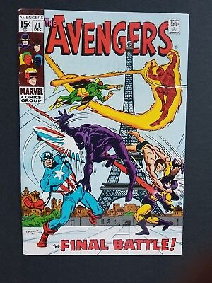 Avengers #71 • 1St Invaders • Hi Grade Vf- (7.5) Or Better • Infinity War
