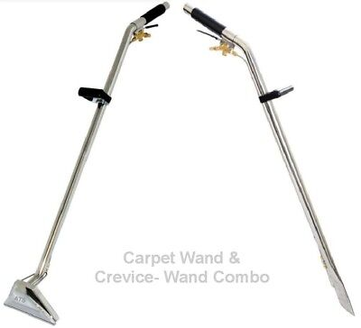 Carpet Cleaning Wand & Crevice Wand Combo