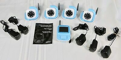 Infant Optics DXR-5 Baby Monitor with 4 Cameras, Night Vision *Excellent, Clean*