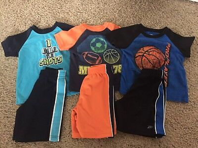 Toddler Boy Clothes Outfits Shirts/Shorts Lot Size 3T