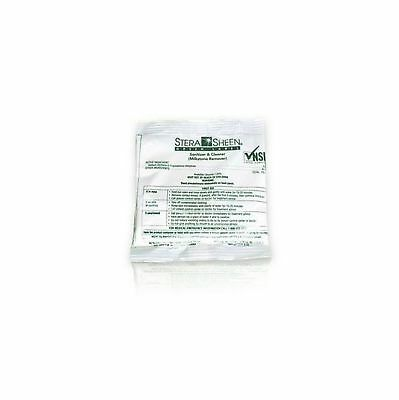 Box of 100 - 2 oz. Stera-Sheen Green Label Sanitizer Packets (Purdy Products)...