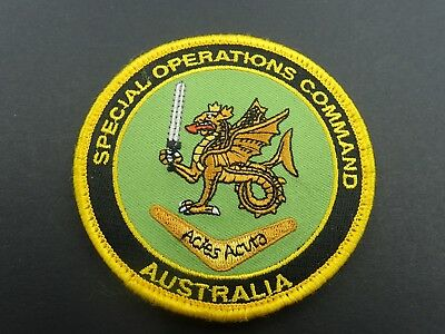 Special Operations Command Australia Patch