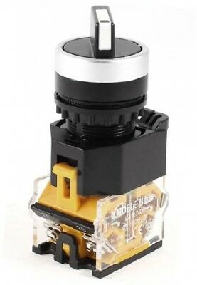 Ui 415V Ith 10A 2 Position DPST Latching Rotary Selector Switch