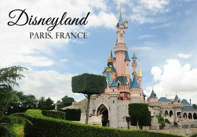 DISNEYLAND PARIS FRANCE FRIDGE MAGNET us #fm83