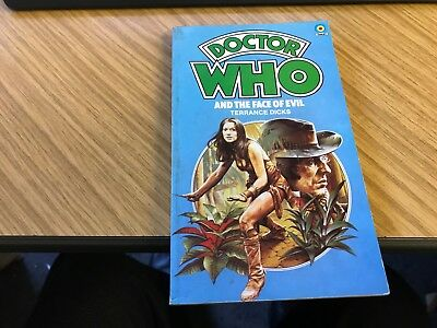 Doctor Dr Who Target Paperback - The Face Of Evil - Exc Con