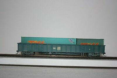 HO NSW CDY Open Wagon w/2 Containers