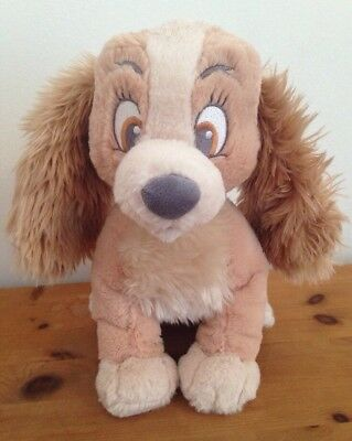 Disney Store Disney baby 'Lady' soft toy plush hug toy from Lady and the Tramp