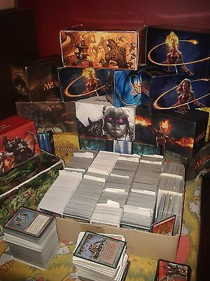 500 MAGIC THE GATHERING CARDS BULK LOT / COLLECTION INCLUDES MANA (c)