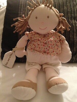 Mamas And Papas Once Upon A Time Large Rag Doll Soft Hug Toy Dolly
