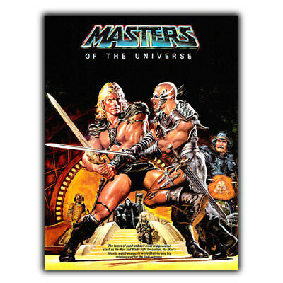 He-Man Masters of the Universe METAL SIGN PLAQUE 80s Retro poster movie man cave