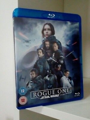 Star Wars Rogue One - Blu Ray Disc Disney Ita - Come Nuovo (No Ultimi Jedi)
