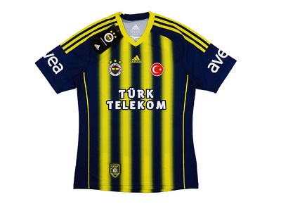 Adidas 2013-14 Fenerbahce Home Shirt Navy/Yellow Age 9-10 Years DH171 LL 16