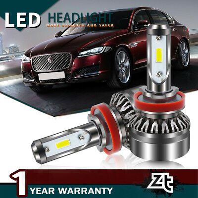 9007 HB5 PHILIPS CSP LED Headlight Bulb Kit Light High Low Beam 8000LM 60W 6500K