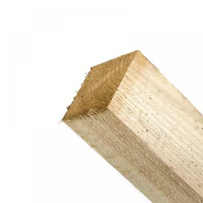"""Timber Fence Post Pressure Treated 4""""x4"""", 8ft and 10ft"""