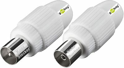 Antenna Plug & Connector Koax einf. Mounting Coaxial & Jack NEW