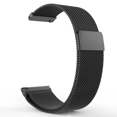 Magnetic Adjust Strap Milanese Wrist Loop For Samsung Gear S3 Frontier / Classic