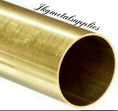 BRASS ROUND TUBES - various wall thickness, diameters and lengths- multi listing