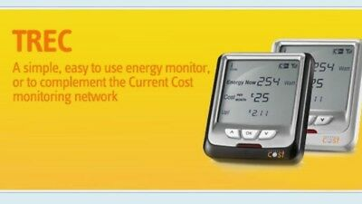 TREC Real-Time Energy Monitor - RRP £31.99
