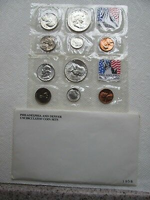 1958 P & D Uncirculated  Us Mint Set