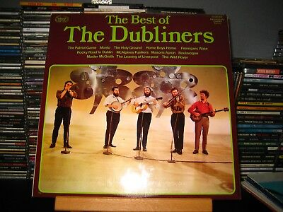 """The Dubliners """"The best of the Dubliners"""" 12"""" LP"""