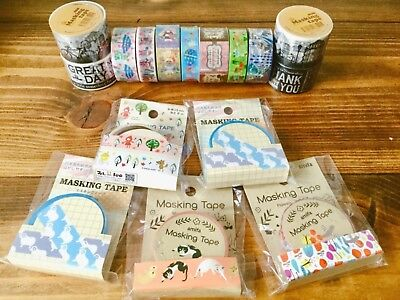 Masking Tape Bundle Set 16 rolls - free postage UK