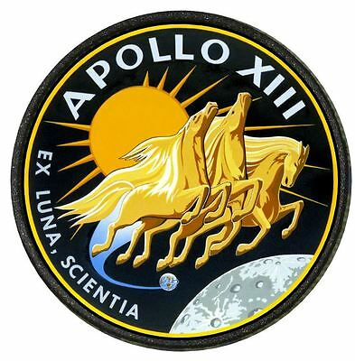 "01B Movie  Cosplay Thermal Image Patch ""Apollo 13 "" Mission Patch"