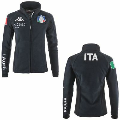 Kappa Fleece Jacke Jacket FISI Italia Ski Team Förderation