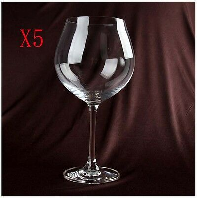 New 5X Capacity 800ML  Height  225MM  Transparent  Red Wine Glass/Glassware %