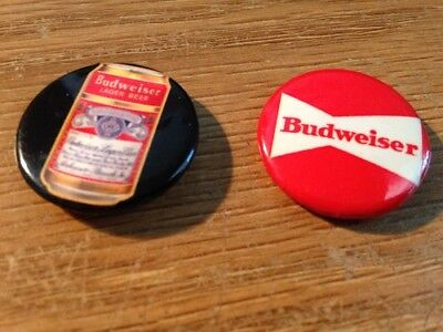 Budweiser Hat Lapel Pins -collectable -vintage-rare